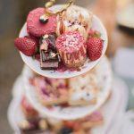 three tier wedding desserts