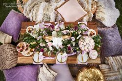 Charmingly Rustic Wooden table