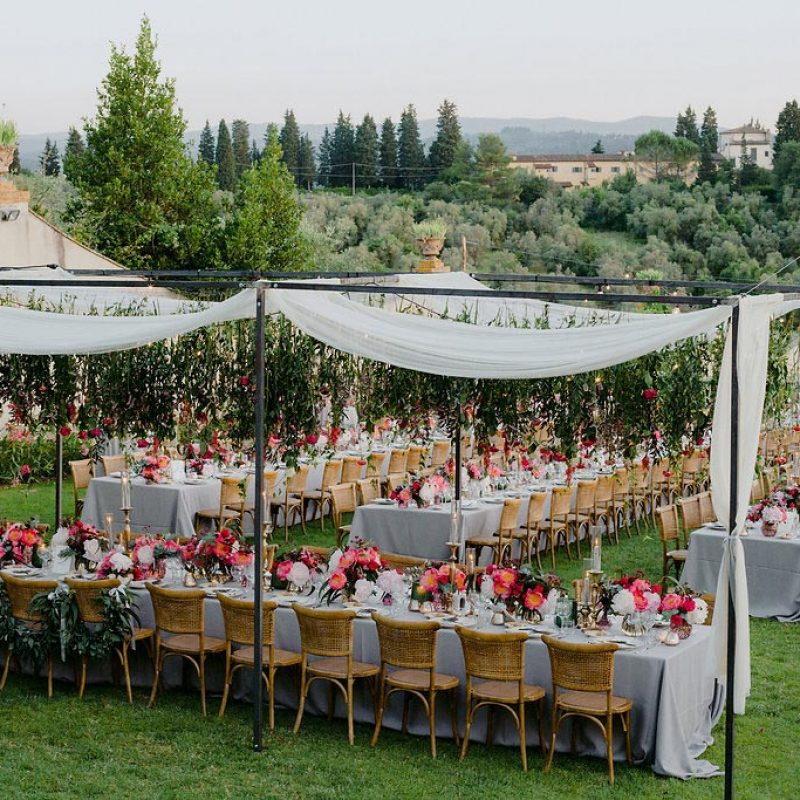 Outdoor Italian Wedding Photo by Erin & Gabri