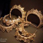 Vintage wedding crown for brides