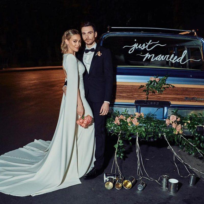 Hilary Duff Wedding Style