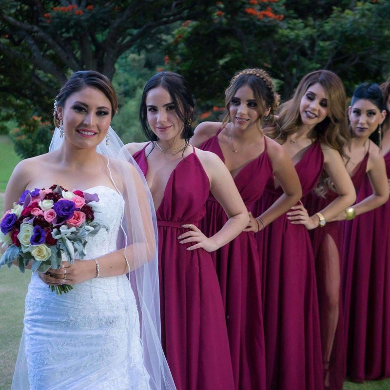 Matchy Matchy Bridesmaid Gowns